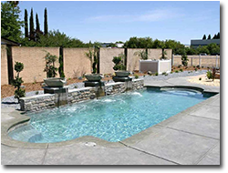rectangular pool designs with spa. Tropical Island Pool - Rectangle Designs Rectangular With Spa A